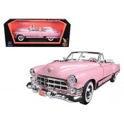 1949 Cadillac Coupe Deville Pink 1:18 Yatming Road Signature diecast Scale Model car
