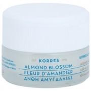 Korres Face Almond Blossom creme hidratante e nutritivo para pele seca a muito seca 40 ml