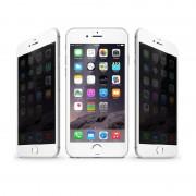 Folie sticla 3D Privacy Iphone 7 Plus - Alb