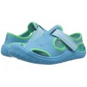 Nike Sunray Protect (InfantToddler) Still BlueChlorine BlueElectro Green