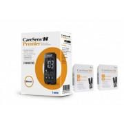 CareSens N Premier glucometru + 100 teste, testare rapida si precisa, ecran luminos, bluetooth, nu necesita codare + CADOU dopuri de urechi