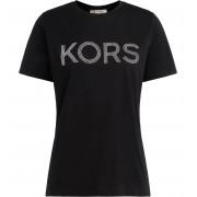 Michael Kors T shirt Michael Kors in cotone nero con logo frontale