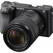 Sony Alpha a6400 18-135 f/3.5-5.6 OSS KIT Black Mirrorless Digital Camera crni bezrcalni digitalni fotoaparat i zoom objektiv SEL18135 18-135mm F3.5-5.6 ILCE-6400MB ILCE6400MB ILCE6400MB.CEC ILCE6400MB.CEC