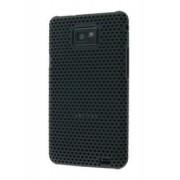 Slim Mesh Case for Samsung I9100 Galaxy S2 - Samsung Hard Case (Black)