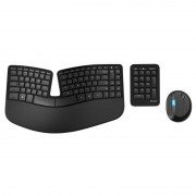 Kit Tastatura + Mouse Microsoft Sculpt Ergonomic Desktop Wireless Negru