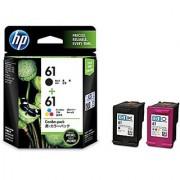 HP 61 Ink Cartridges Black / Tri-color 2-Pack (CR311) Retail Packing
