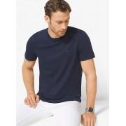MK Cotton Crewneck T-Shirt - Midnight - Michael Kors