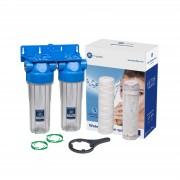 Sistem de filtrare in 2 etape Aquafilter FHPRCL34 B1 TWIN
