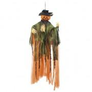 Geen Pompoen pop Halloween versiering 100 cm