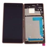 Дисплей + Tъч скрийн + Рамка за Sony Xperia Z3 D6653 Gold