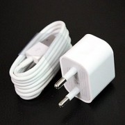 Lightning Data Charging Sync Cable Wall Charger with USB Adapter