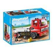 Playmobil 5283 - Flatbed Construction Truck with Worker and Tools