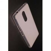 Силиконов калъф за Lenovo K6 Note гръб бял мат