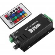 ER 24 Clave De Música Mando A Distancia IR Sound Sensitive Para RGB LED Luz De Tira