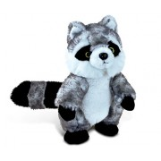 Puzzled Raccoon Super - Soft Stuffed Plush Cuddly Animal Toy Animals / Wild Theme 9 Inch Unique Huggable Loveable New Friend Gift (5771)