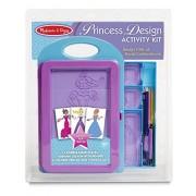 Melissa & Doug Princess Design Activity Kit, Multi Color