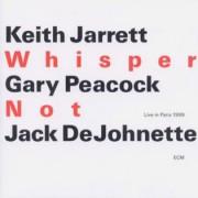Muzica CD - ECM Records - Keith Jarrett Trio: Whisper Not