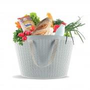 Banquet 50525002 Szürke rattan táska