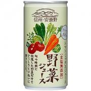 《ハロートーク》 〈ゴールドパック〉信州・安曇野野菜ジュース(ストレート) 190g × 30本