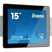 Iiyama ProLite TF1515MC-B1 15 1024 x 768Pixels Multi-touch Zwart touch screen-monitor