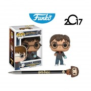 Set Harry Potter Con Pluma Rubeus Hagrid Funko Pop Pelicula