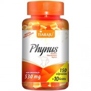 Phynus (Chitosan + Fibra de Laranja + Psyllium) 150 Cápsulas + 10 Grátis - Tiaraju