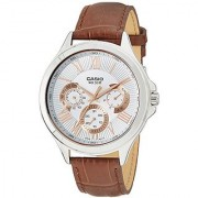 Casio Enticer Mens Analog Silver Dial Mens Watch - Mtp-E308L-7Avdf(A1052)