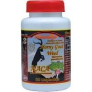 Horny Goat Weed y Maca Peruana 60 caps/500mg