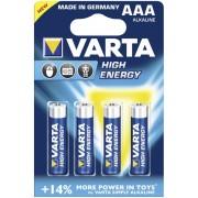 Varta Baterie AAA/LR03 VARTA High Energy 4ks (blistr)