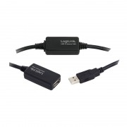 Logilink USB2.0 Extension cable 25m Black UA0147