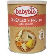 Babybio 3 Vruchtengranen 220g