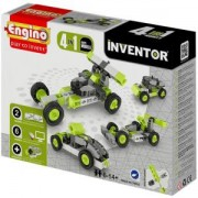 Конструктор Енджино Изобретател - 4 модела коли - Engino, 150001