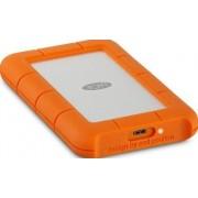 HDD Extern LaCie Rugged, 2.5 inch, 1TB, USB 3.1, Rezistent la socuri (Portocaliu)