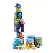 DJECO Zestaw 3 gier, Ludanimo - wyścigi, memo, balans, gry dla dzieci 3 lata +, DJ08420