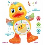 Stookin Battery Operated Music and Light Dancing Duck Toy by TanMan Musical Toys for Kids Musical Toys for Babies