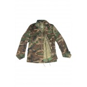 VESTON COPII M65 CAMUFLAJ WOODLAND