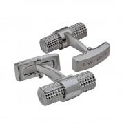 Davidoff Manschettenknöpfe Davidoff Paris 23031 Messing Platiert Gun Metal Cufflinks Rund
