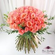 Buchet 101 trandafiri Vintage Roses BF092