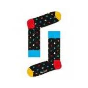 Happy Socks-Sokken-Conus Sock-Zwart
