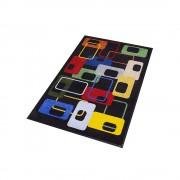 Schmutzfangmatte Modern-70s-Design BxL 900 x 1500 mm