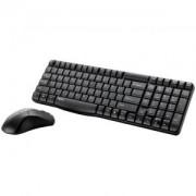 RAPOO X1800 Безжичен комплект клавиатура с мишка, Черен- RAPOO-11582