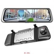 Camera Auto Oglinda Offroad Zenteko Full HD cu touchscreen SM1010CM + IN-CAR Triple, bonus nou