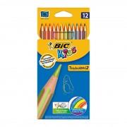 Creioane colorate Bic 12 culori Tropicolors 901412