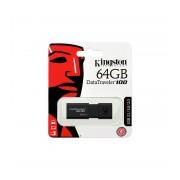 Memory stick USB 3.1 Gen 1 Kingston DataTraveler DT100G3 64 GB cu capac culisant