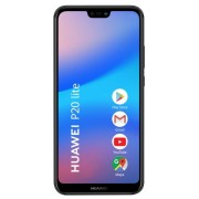 "Telefon Mobil Huawei P20 Lite, Procesor Octa-Core 2.36/1.7 GHz, LTPS TFT Capacitive touchscreen 5.84"", 4GB RAM, 64GB Flash, 16+2MP, Wi-Fi, 4G, Dual SIM, Android (Negru) + Cartela SIM Orange PrePay, 6 euro credit, 6 GB internet 4G, 2,000 minute nationale s"