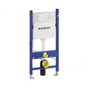 Rezervor WC incastrat Geberit Duofix Delta cu cadru de instalare, pentru pereti usori, 3-7,5 l, 50x112 cm, incl. clapeta de actionare