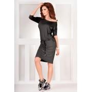 numoco Tmavě šedé sportovní šaty model 4974975 XXL