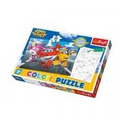 Trefl Oboji me puzzle Super Wings