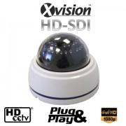 Bezpečnostní FULL HD IR CCTV kamera s nočním viděním do 25m.