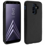 forcell Capa Forcell Wallet Carteira Preta para Samsung Galaxy A6 Plus